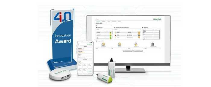 "Auch der ""Industrie 4.0 Innovation Award"" ging im letzten Jahr an den Schaeffler OPTIME ( Foto: Schaeffler Deutschland )"